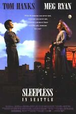 SLEEPLESS IN SEATTLE - 1993 - Original 27x40 movie poster- TOM HANKS, MEG RYAN