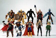 "Marvel Universe 3.75"" Thor Ragnarok Lot of 10 Action Figures Asgard Hasbro"