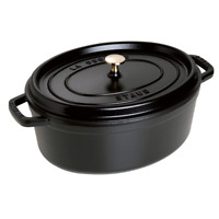 Staub Cast Iron 7-qt Oval Cocotte - Visual Imperfections