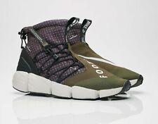 Nike Air Footscape Mid Utility. Men's Shoes.Black/White-Cargo Khaki (NO BOX LID)