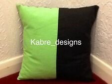 Cotton Blend Handmade Patternless Decorative Cushions
