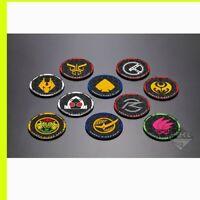 Kamen Rider Zi-o Vol.2 C Rubber Coaster all 10 ichiban kuji Heisei Legend ZIO