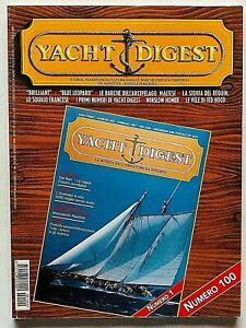 Yacht Digest Rivista 100 / 2000 Barche d'epoca Modellismo Design Blue Leopard