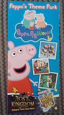 Peppa Pig World (Paultons Park) / Lost Kingdom Dinosaur World Flyer & Map