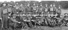 MEN OF EPSOM HOME GUARD SURREY 1940 VINTAGE MOUNTED PRINT WORLD WAR 11 ANCESTRY