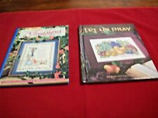 Craft Books:2 Counted Cross Stitch HB Timeless Treasures & Let Us Pray(590