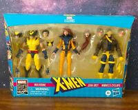 Marvel Legends X-Men Jean Grey, Cyclops, and Wolverine 6-Inch Action Figure 3-Pa