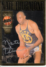 Nate Thurmond certified signed auto 1994 Action Packed Hall of Fame HOF card
