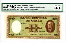 Chile ... P-107 ... 1000 Pesos ... 1947 ... *Ch AU* ... PMG 55