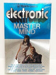 Vintage Electronic Master Mind Invicta Handheld Game NEW SEALED