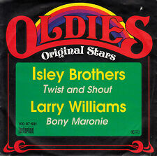 "7"" Single - ISLEY BROTHERS - Twist and Shout / Larry Williams - Bony Maronie"