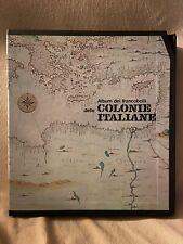 VERO AFFARE!COLONIE, CARTELLA ALBUM BOLAFFI GBE MILORD ITALIA CON CUSTODIA!!