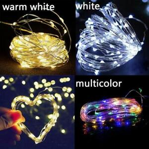 200LED Solar String Light Waterproof Copper Wire Fairy Party Garden Outdoor