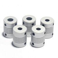 4, 5, 6.35, 8, 10mm Shaft Flexible Coupling Coupleur accouplement mécanique