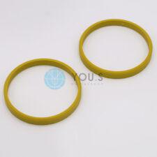 2 x Bagues de centrage d'entretoise pour jantes alu t14-sr661p 72,0 - 66,1 mm