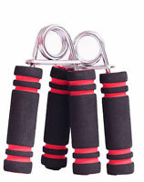 2 x Foam Hand Grip Grippers Forearm Muscle Wrist Exercise Fitness Body Building