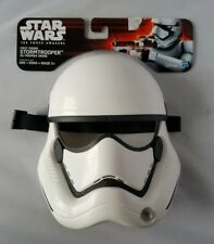 Star Wars Rogue One First Order Stormtrooper Kids' Youth 5+ Mask Halloween White