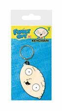 FAMILY GUY STEWIE FACE RUBBER KEYRING NEW 100% OFFICIAL MERCHANDISE