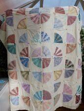 """VINTAGE trapunta patchwork, 90"""" x 85"""" doppio"""