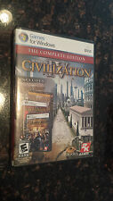 Sid Meier's Civilization IV Complete Edition Windows XP / 7 PC Game CD