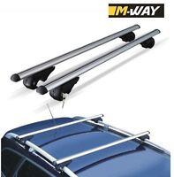 M-Way Roof Cross Bars Locking Rack Aluminium for Audi A4 Avant 1996-2007