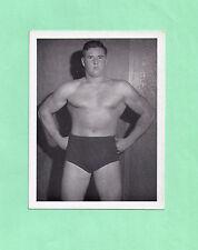 Handsome Johnny Barend photo picture wrestler wrestling vintage rochester flash