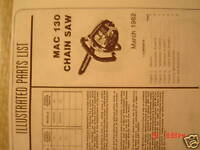 mcculloch pro mac 610 manual