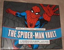 The Spider-Man Vault Artwork & Artifacts 2010 New Book! Great Pics! Nice SEE!