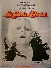 LES GALETS D'ETRETAT Affiche Cinéma / Movie Poster SERGIO GOBBI Virna Lisi