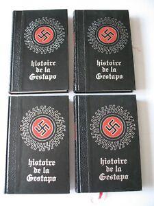HISTOIRE DE LA GESTAPO Jean DUMONT Editions de Crémille 1971 4 volumes TBE