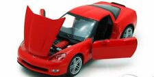 Chevrolet Corvette Z06 2007 - Red 1/24 Welly Nex Model Car