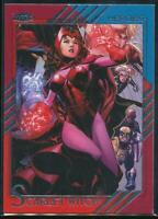 2015 Fleer Retro Marvel Trading Card #44 Scarlet Witch