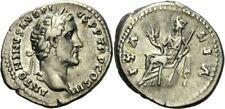 Antoninus Pius Denar Rom 140-143 ITALIA Zepter Globus Mauerkrone Füllhorn RIC 73