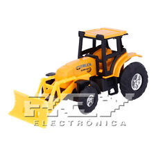 Excavadora Bulldozer Articulada Naranja Quitanieves Juguete Niños + 3 Años j237