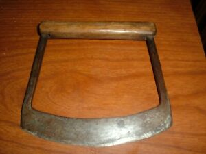 RARE ANTIQUE HAND FORGED  WHALE BLUBBER FLENSING BLADE