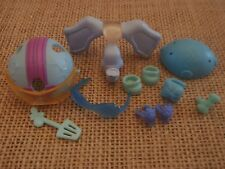 Littlest Pet Shop Blue Accessories Elephant Costume Helmet Shoes Goggles W32