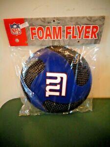 NFL NEW YORK GIANTS FOAM FLYER FLYING FRISBEE DISC