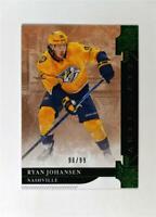 2019-20 UD Artifacts Emerald Stars #113 Ryan Johansen /99