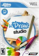 U Draw Studio (Nintendo Wii GAME ONLY!) LN WITH Manual & FAST LOW SHIPPING