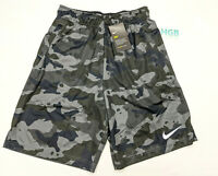 Nike Mens Camouflage Shorts Training Running Gym Grey CD7682-060 NWT