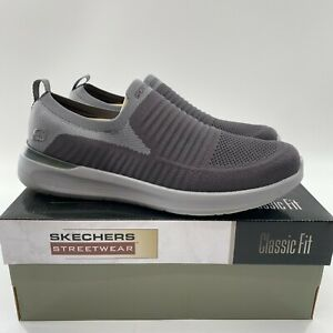 Skechers Men's Lattimore Carlow Slip-on Shoes Sneaker Comfort Memory Foam 11.5