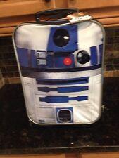 Disney Star Wars Force Awakens R2-D2 Suitcase Rolling Bag Luggage case carryon