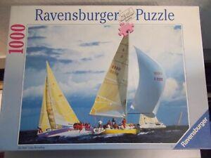 Ravensburger-Puzzle 'Regatta', 1000 Pieces, No. 158768, #SO-146