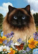 Summer Garden Flag - Himalayan Cat 189521