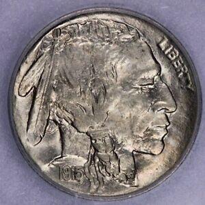 1915-P 1915 Buffalo Nickel ICG-MS61