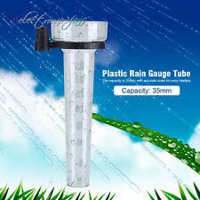 Plastic Rain Gauge Up to 35mm Capacity Measurement collect Tool For Garden Water