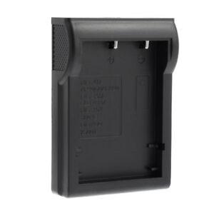 Adapter für Ladegerät Ladestation Akku Fuji NP-40 NP-60 NP-95, Samsung SLB-0837