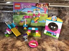 Lego Friends 41303 Puppy Playground 100% Complete With Manual Dog