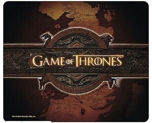 Game Of Thrones Opening Logo Computer Mouse Mat (aby)