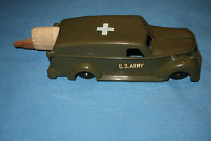 Vintage Idea Military US Army Medical Vehicle with Stretcher